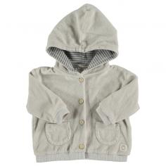 Gilet à capuche en coton éponge pour enfants au meilleur prix