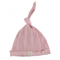 Bonnet rose pour bébés...