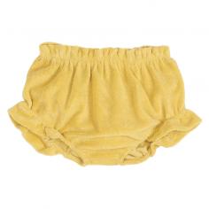 Bloomer bébé en coton éponge de couleur maïs de la marque Emile et ida