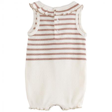 Combishort légère pour bébés en coton tout doux de la marque Emile et Ida au meilleur prix