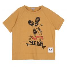 Tee-shirt pour enfants dans une belle couleur érable de a collection été Emile et ida au meilleur prix
