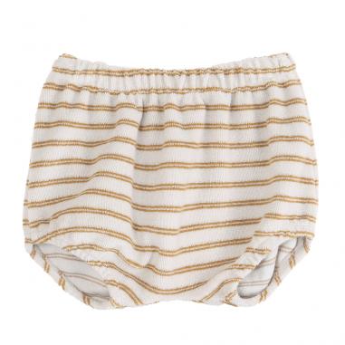 Bloomer très doux en coton éponge à motif rayures pour les bébés dès la naissance de la marque Emile et Ida à petit prix