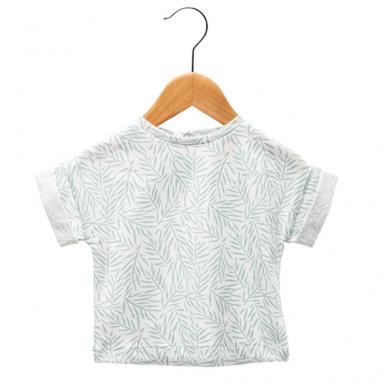 Tee-shirt blanc et vert pour enfants...