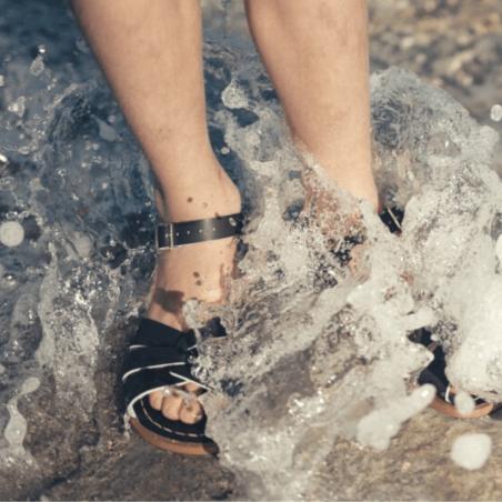 Sandales de couleur marine pour enfants et femmes de la marque Salt-Water au meilleur prix