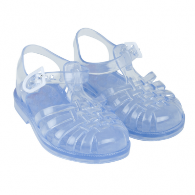 Paire de sandales waterproof pour enfants de couleur transparentes signées Tinycottons au meilleur prix