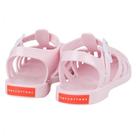 Jolie paire de sandales rose de la marque Tinycottons pour vos enfants au meilleur prix
