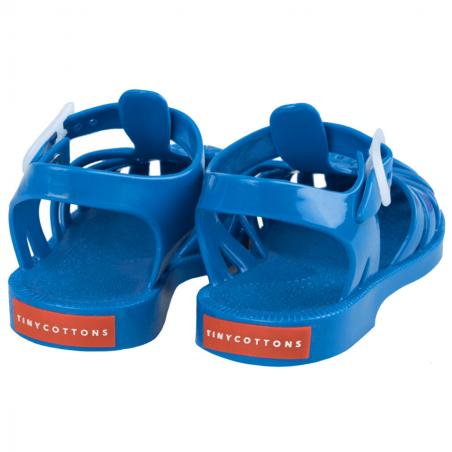 Sandales bleu pour petits garçons de la marque Tinycottons à petit prix