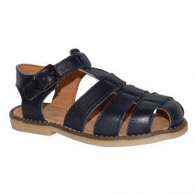 Paire de sandales de couleur marine pour enfants de la marque française Little Mary au meilleur prix