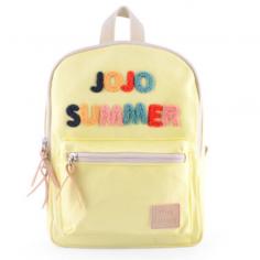 Très beau sac à dos pour enfants de couleur jaune de la marque Jojo Factory à petit prix