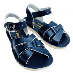 Sandales waterproof de couleur marine pour enfants de la marque Salt-water à petit prix