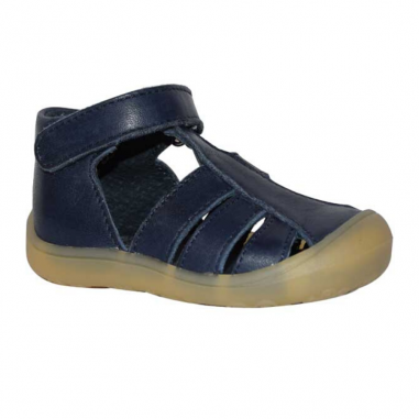 Sandales souples pour enfants de couleur marine de la marque Little Mary au meilleur prix