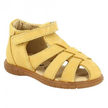 Sandales pour enfants de couleur moutarde de la collection été au meilleur prix