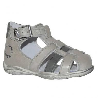 Sandales pour garçons Little Mary de couleur grise de la collection été