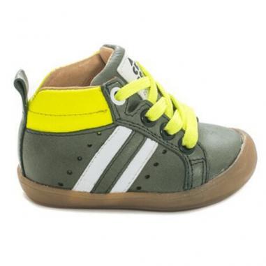 Chaussures de couleur verte et jaune pour enfants de la marque Acebos au meilleur prix