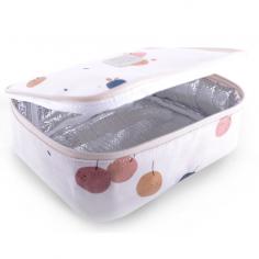 Boîte à goûter écrue pour enfants de la marque Jojo Factory