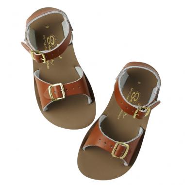 Sandales de couleur camel pour enfants de la marque Salt-Water au meilleur prix