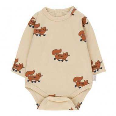 Body fox crème pour bébés Tinycottons