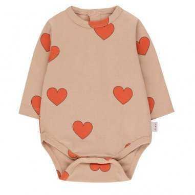 Body coeur bébés Tinycottons