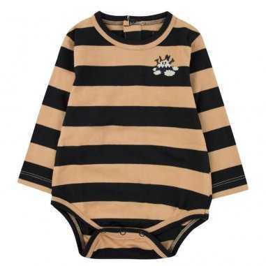 Body à rayures pour bébés de la marque Tinycottons