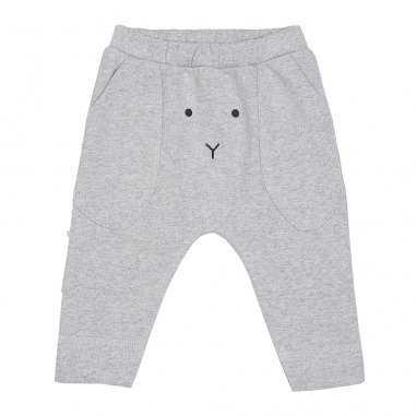 Pantalon gris chiné pour bébés de la marque Emile et Ida