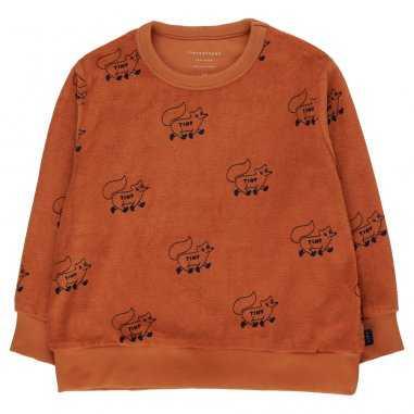Sweatshirt fox pour enfants de la marque Tinycottons