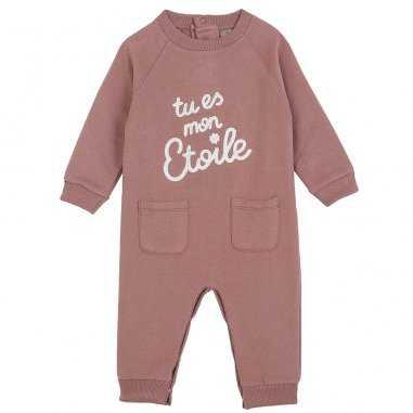 Pyjama rosa pour bébés de la marque Emile et Ida