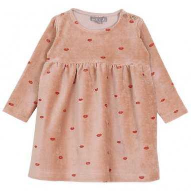 Robe bisous pour bébés de la marque Emile et Ida
