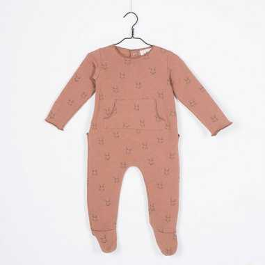 Pyjama lapin cannelle pour bébés de la marque Les Petites Choses