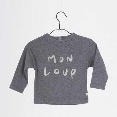 Tee-shirt mon loup pour bébés de la marque Les Petites Choses