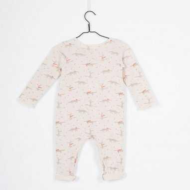 Combinaison crème pour bébés de la marque Les Petites Choses