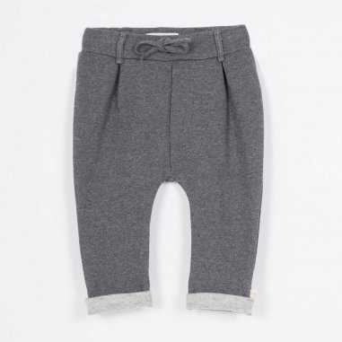 Pantalon minichino gris pour enfants de la marque Les Petites Choses