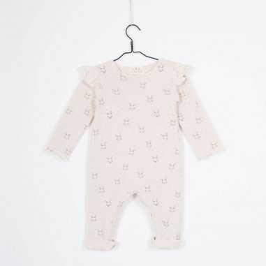 Combinaison crème froufrou pour bébés de la marque Les Petites Choses