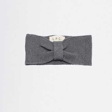 Bandeau en laine gris pour bébés de la marque Les Petites Choses
