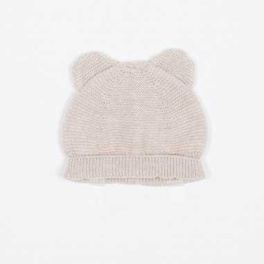 Bonnet crème pour bébés de la marque Les Petites Choses