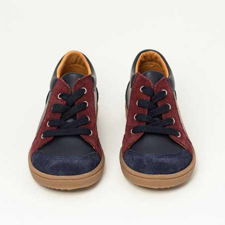 Chaussures marine pour enfants de la marque Patt'touch