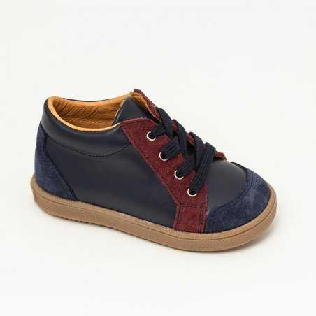 Chaussures marine enfants Patt'touch