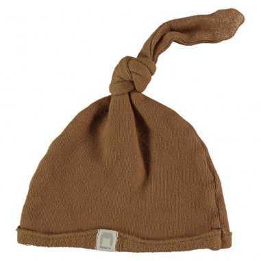 Bonnet caramel pour bébés de la marque Bean's Barcelona