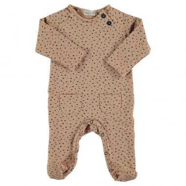 Pyjama saumon pour bébés de la marque Bean's Barcelona