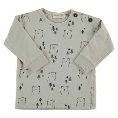 Tee-shirt oursons pour enfants de la marque Bean's Barcelona