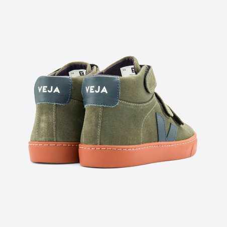 Sneakers vertes pour enfants de la marque Veja