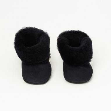 Chaussons fourrés pour bébés de la marque Patt'touch
