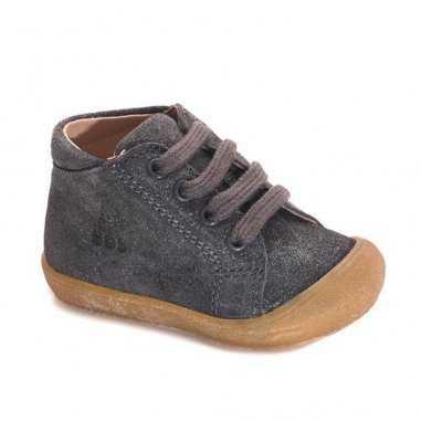Chaussures premiers pas grises pour enfants de la marque Acebos