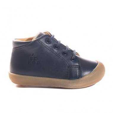 Chaussures premiers pas marine pour enfants de la marque Acebos
