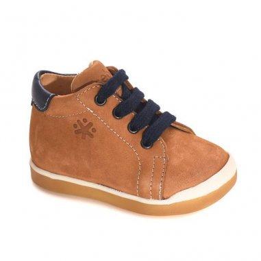 Chaussures caramel pour enfants de la marque Acebos