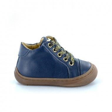 Chaussures premiers pas marine pour enfants Stones and Bones