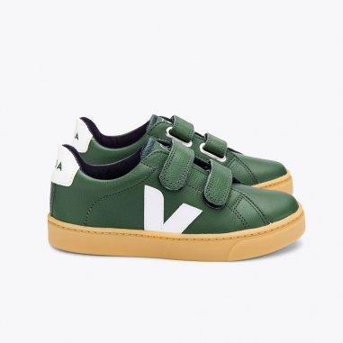 Sneakers V10 esplar vertes pour enfants de la marque Veja