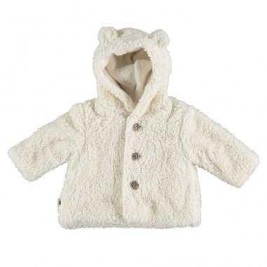 Manteau blanc pour enfants de la marque Petit indi