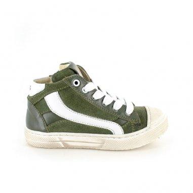 Chaussures vertes pour enfants de la marque Stones and Bones