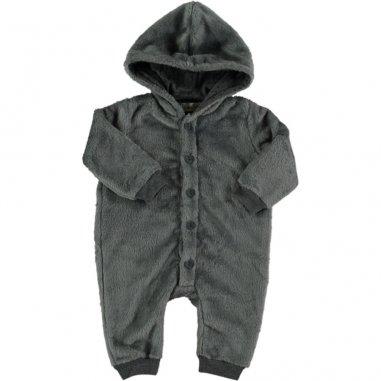 Combinaison pilote grise pour bébés...