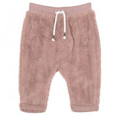 Pantalon peluche rosa pour bébés...
